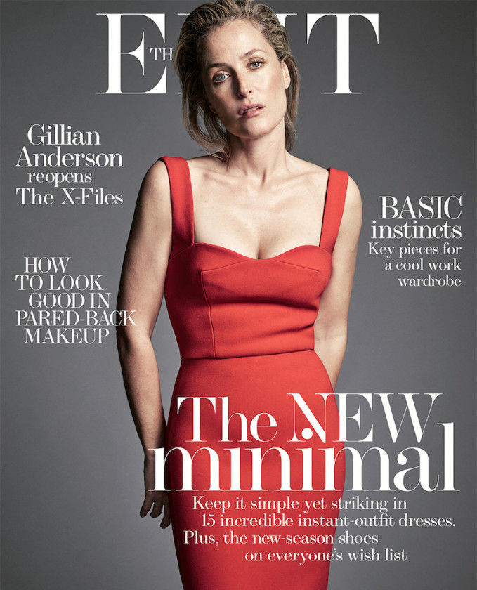 Obsession: Gillian Anderson for The EDIT