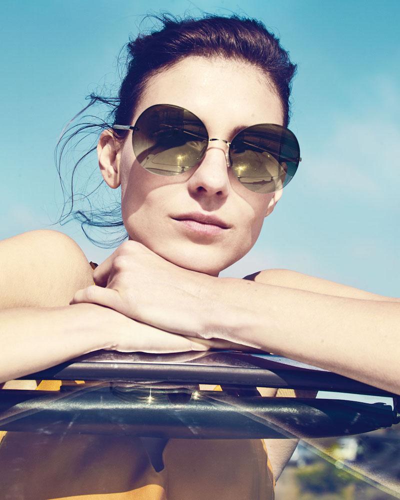 Oliver Peoples Jorie Round Sunglasses