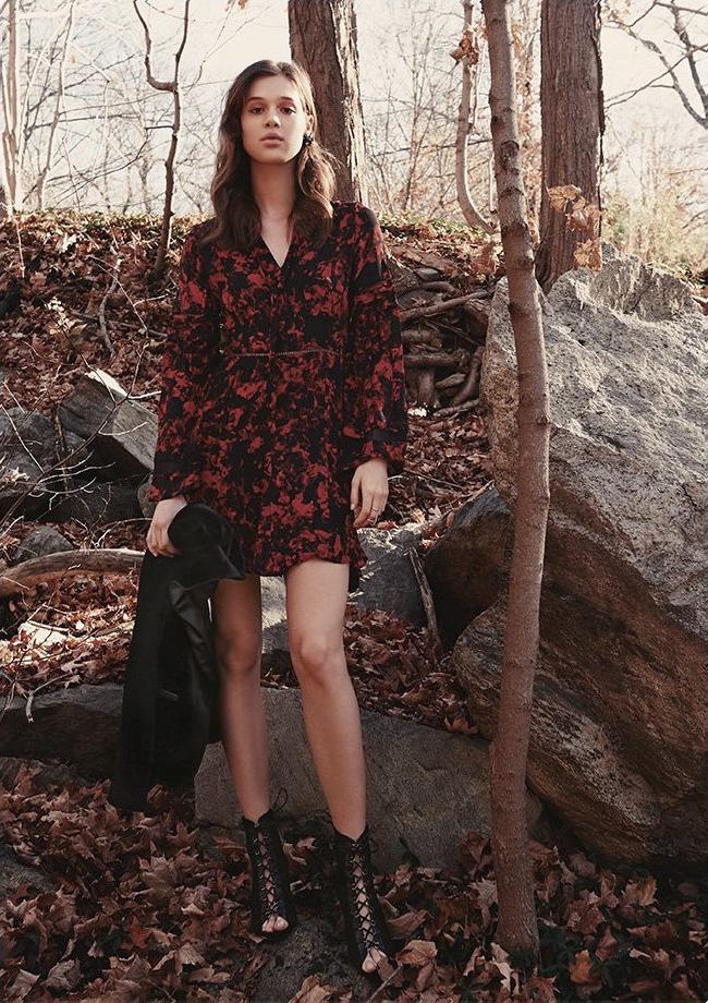 Parker Milly Combo Dress