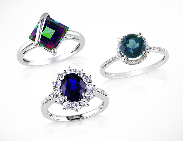 Pop Rocks Gemstone Rings at MYHABIT