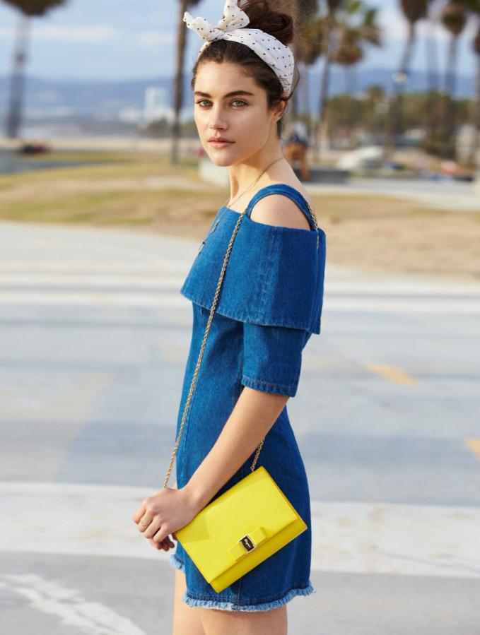 Salvatore Ferragamo Miss Vara Cross Body Bag
