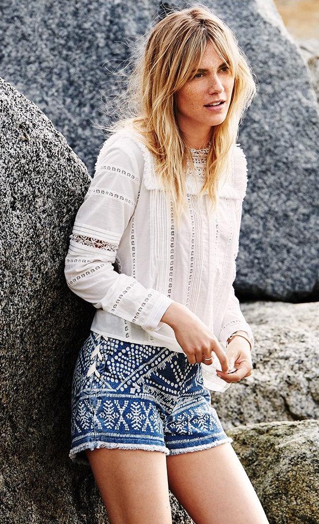 Sea Lace Up Shorts