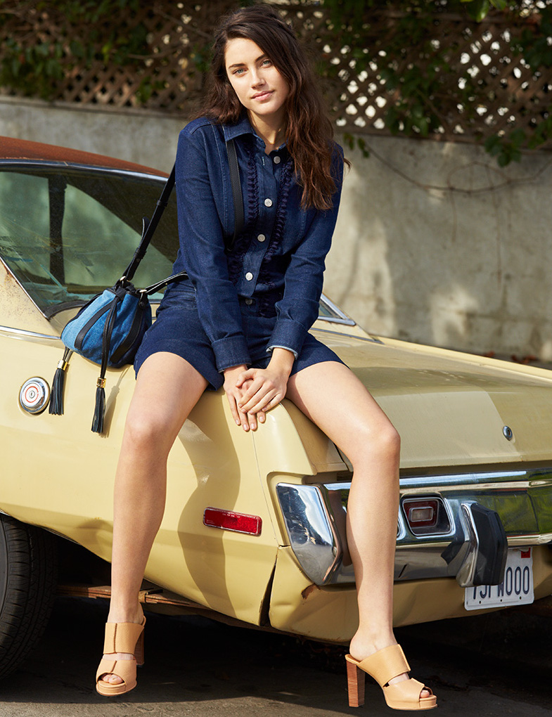 See By Chloé All In One Denim Romper
