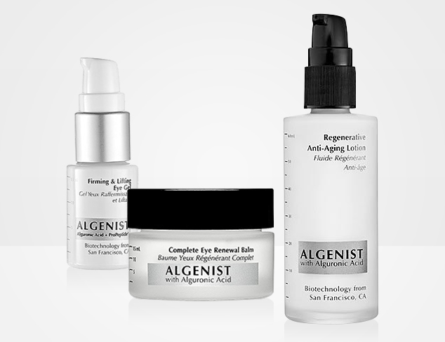Skincare feat. Algenist & Dr. Dennis Gross at MYHABIT