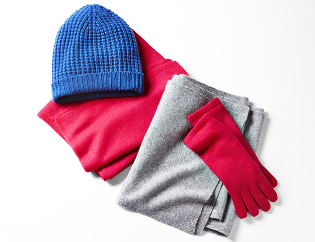 Sofia Cashmere Hats & Gloves at MYHABIT