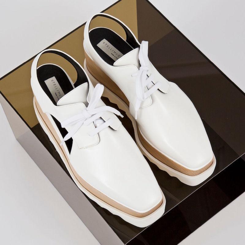Stella McCartney Elyse Cutout Platform Shoes