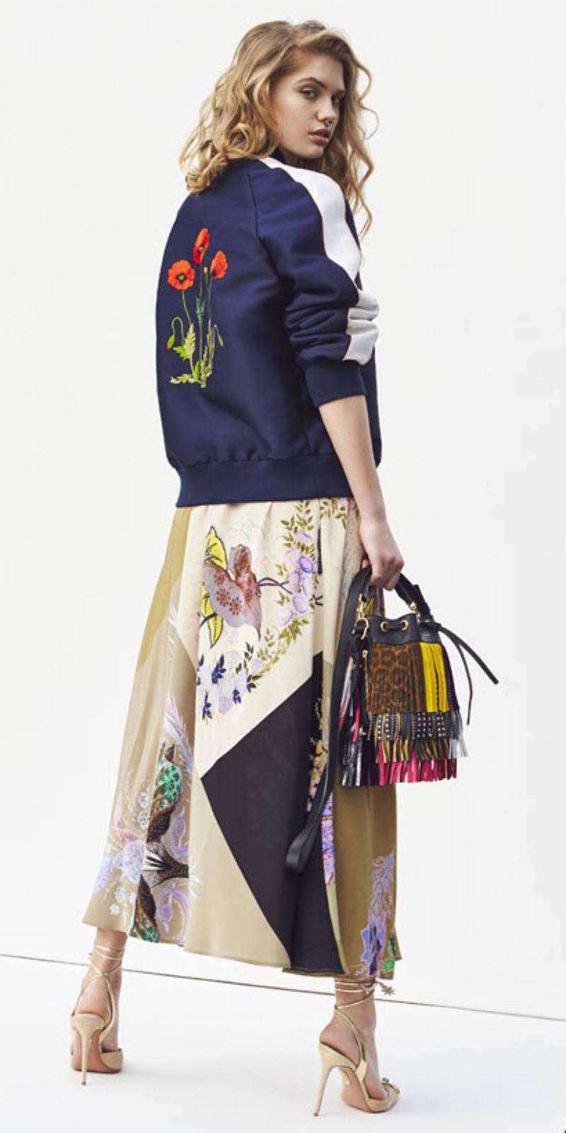 Stella McCartney Lorinda Botanical Embroidery Jacket
