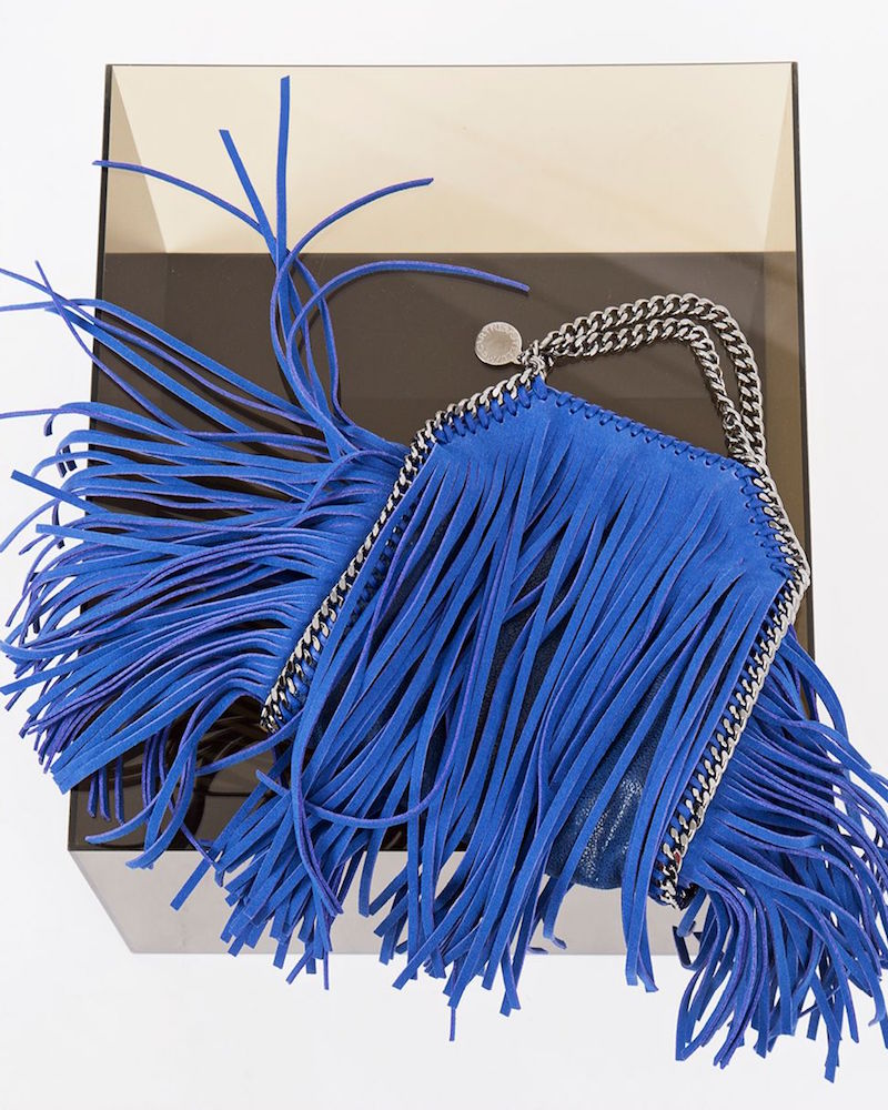 Stella McCartney Tiny Fringed Falabella Bag