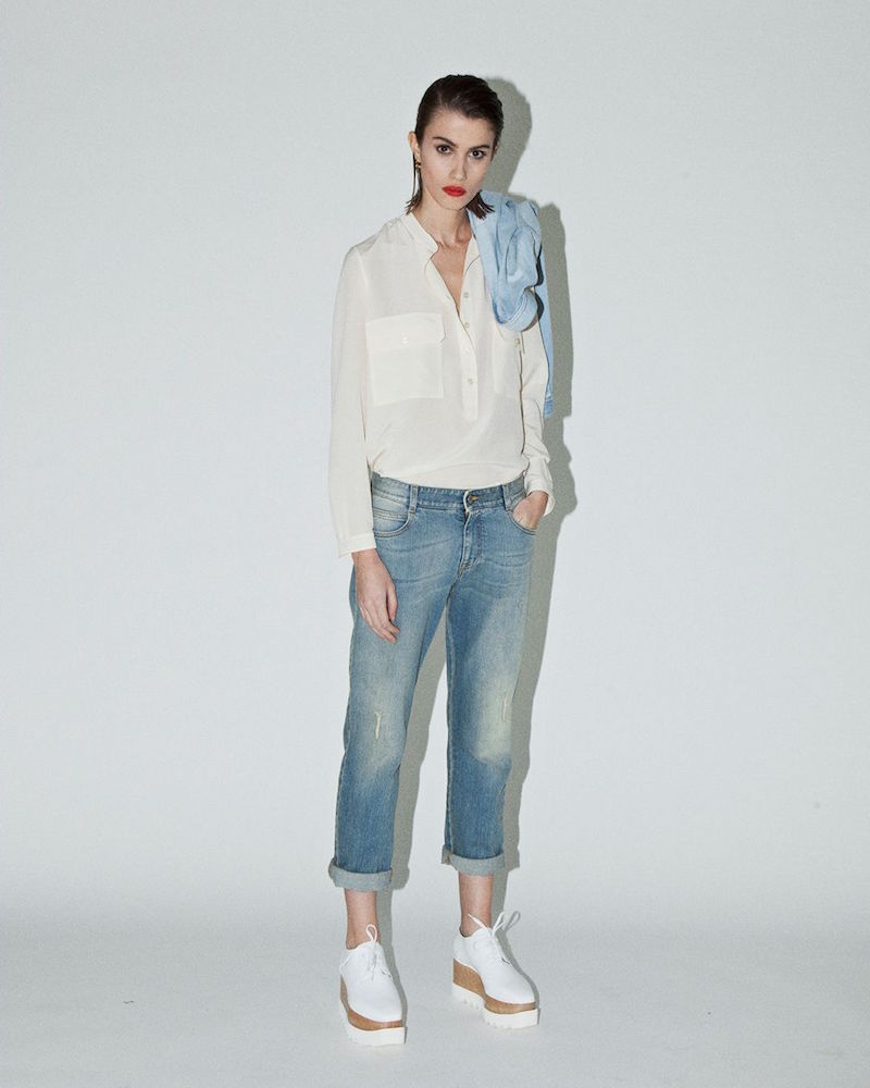 Stella McCartney Tomboy Washed Jeans