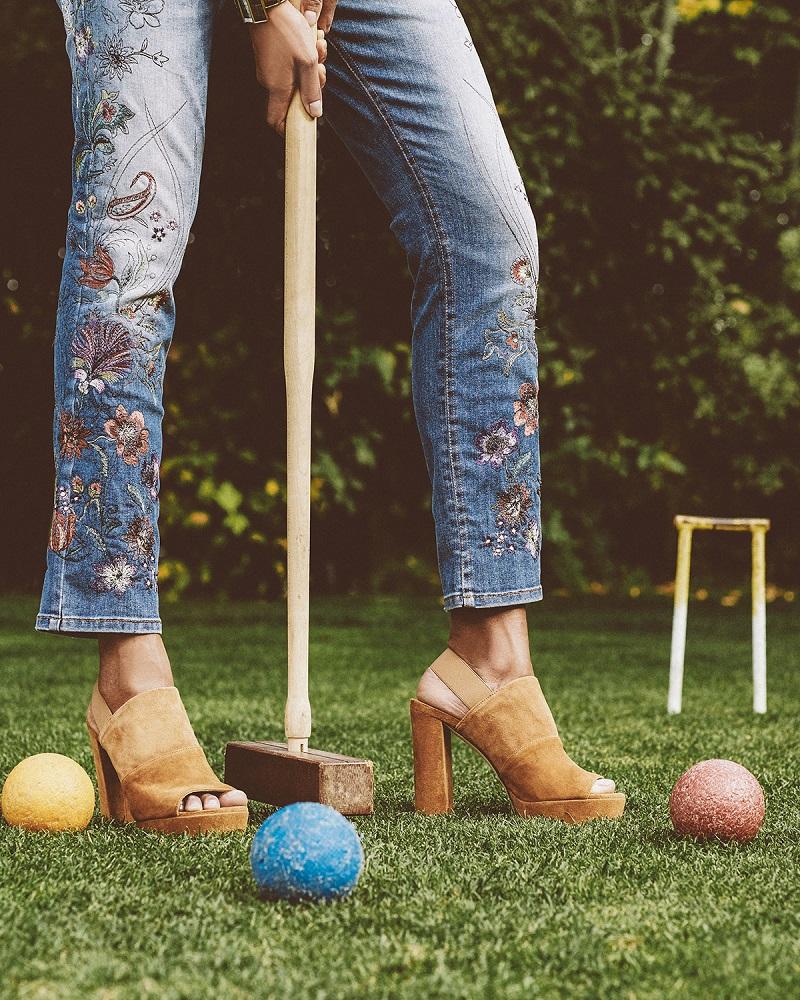 Stuart Weitzman Partition Suede Platform Sandal