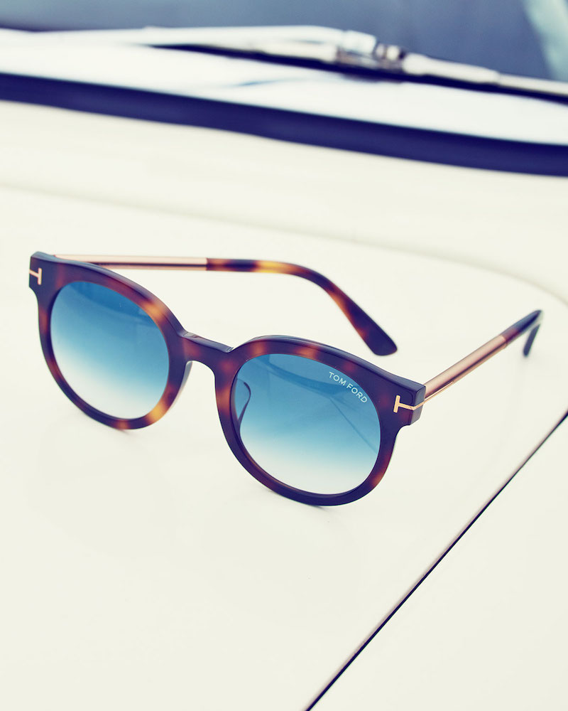 TOM FORD Janina Peaked Sunglasses