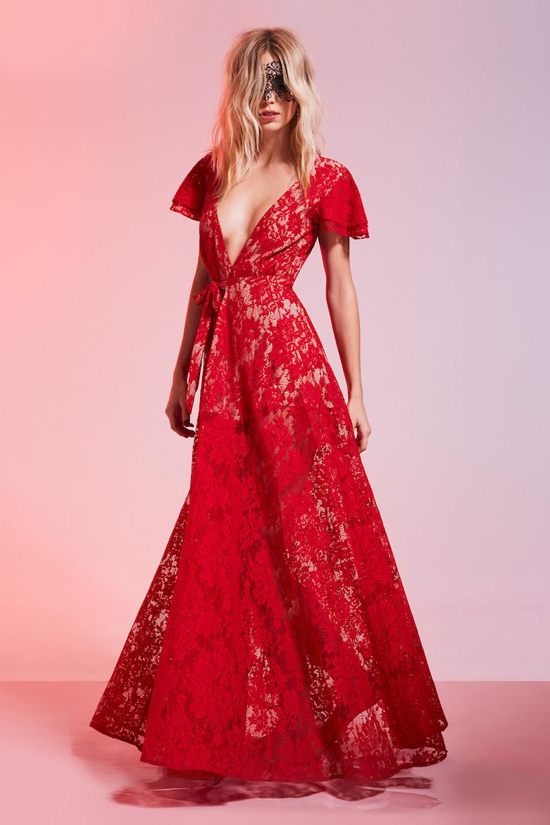 The Jetset Diaries Piazza Lace Maxi Dress