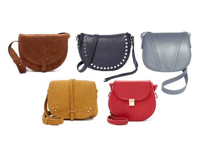 The Saddle Bags at SHOPBOP