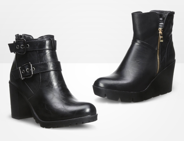 The Short of It Ankle Boots at MYHABIT