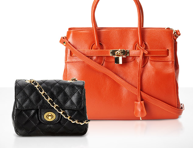 Timeless Silhouettes Handbags at MYHABIT