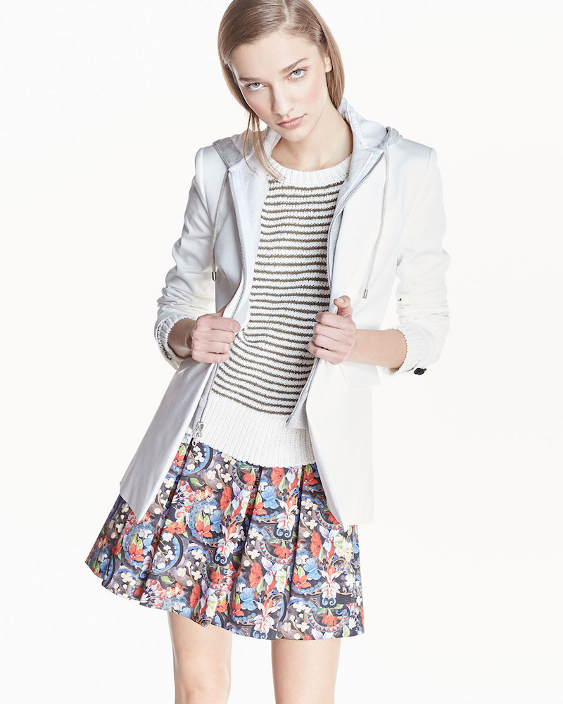 Veronica Beard Long and Lean Cotton-Blend Jacket