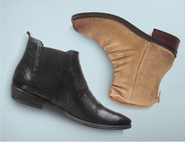 Walk Easy Flat Boots & Booties at MYHABIT