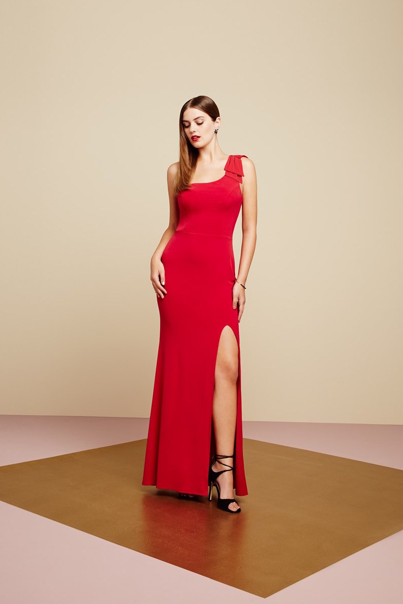 Way-In Kelly One-Shoulder Gown