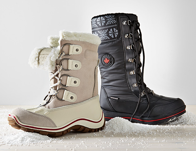 Wintry Mix Cold Weather Boots at MYHABIT