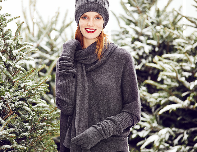 Wintry Mix Sofia Cashmere at MYHABIT