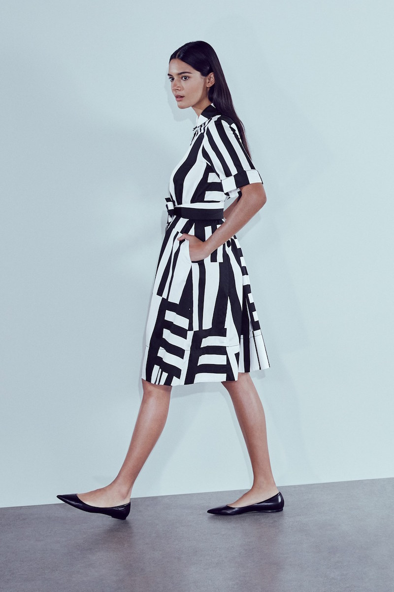 kate spade new york Monochrome Stripe Shirtdress_1