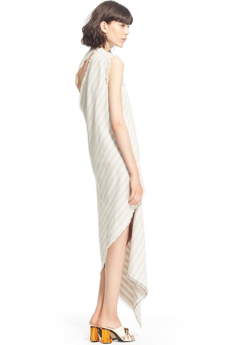 ACNE Studios Cosby Stripe Sleeveless Dress