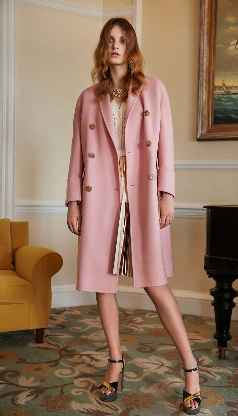Alexander McQueen Wool and cashmere coat