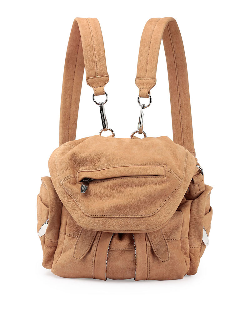 Alexander Wang Marti Mini Nubuck Backpack