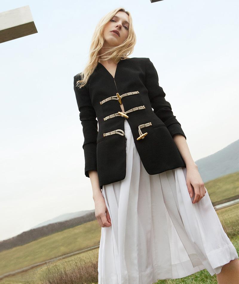 Altuzarra Zurina Pleated Skirt