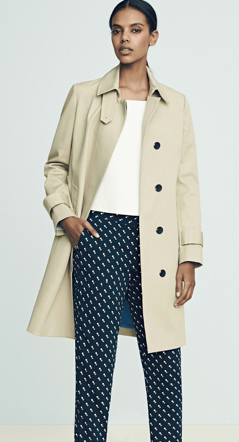 Ann Taylor Banded Sleeve Topper