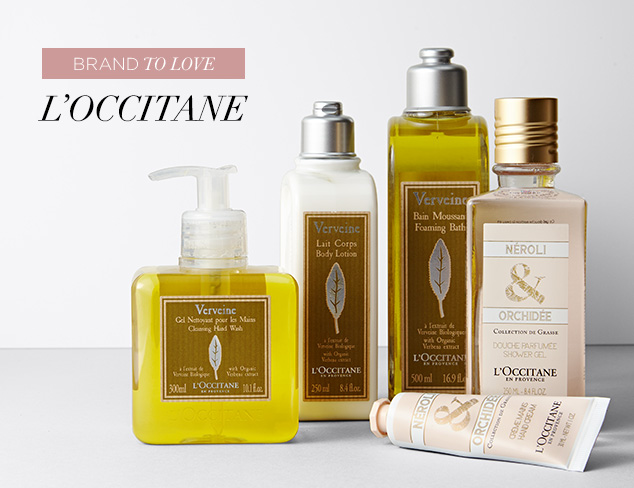 Brand to Love L'Occitane at MYHABIT