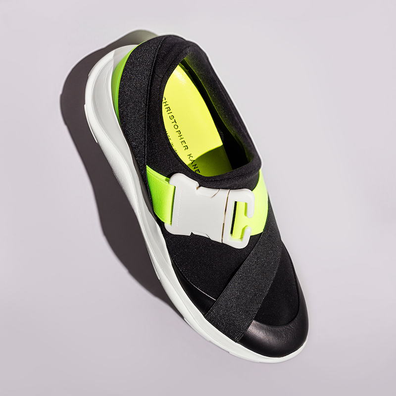 Christopher Kane Low Top Neoprene Sneakers
