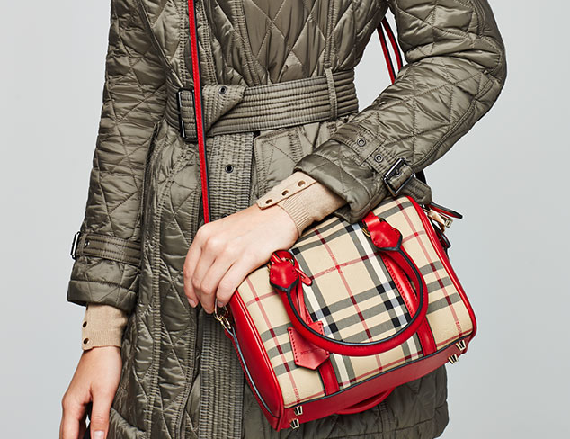 Designer Handbags feat. Burberry at MYHABIT