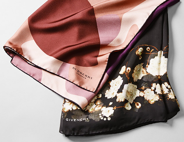Designer Scarves feat. Givenchy & Burberry at MYHABIT