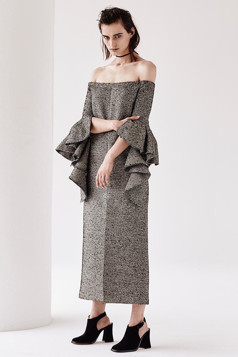 Ellery Precocious off-the-shoulder dress-