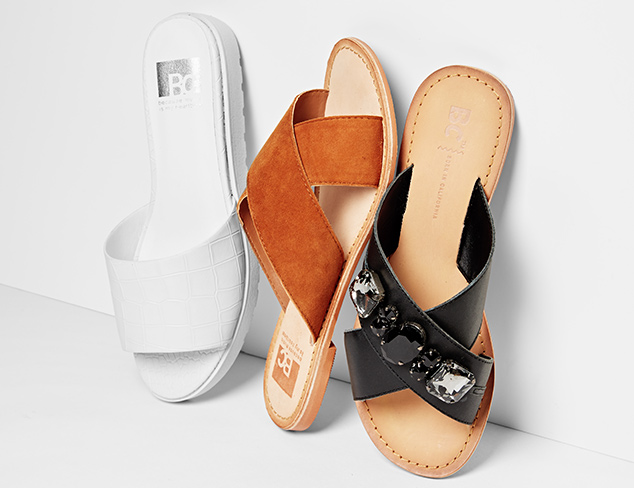 Flat Sandals feat. BC Footwear at MYHABIT