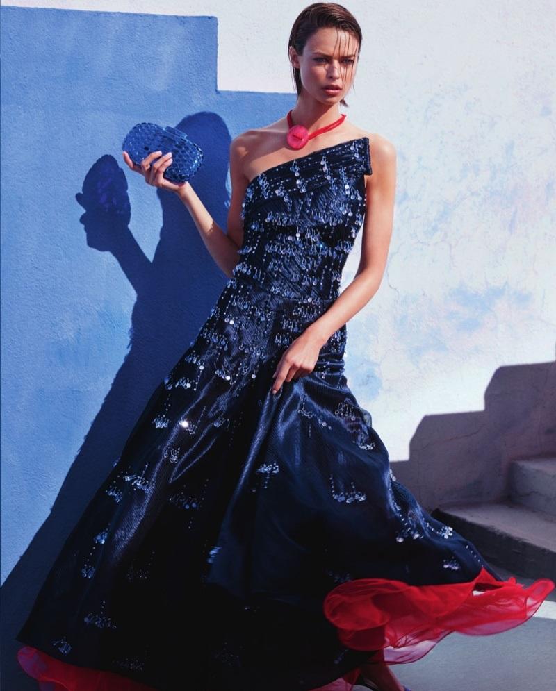 Giorgio Armani Sparkling Gown