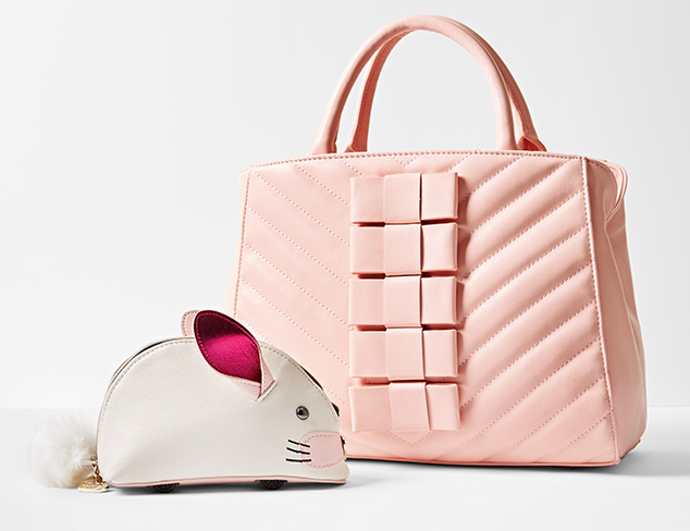 Handbags feat. Betsey Johnson at MYHABIT