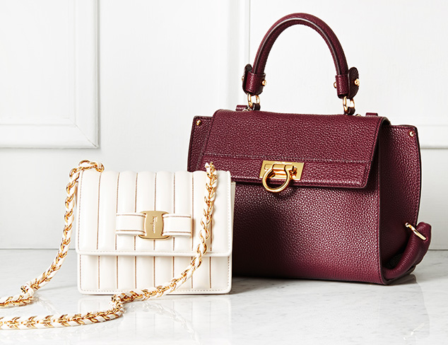 Handbags feat. Tod's & Salvatore Ferragamo at MYHABIT