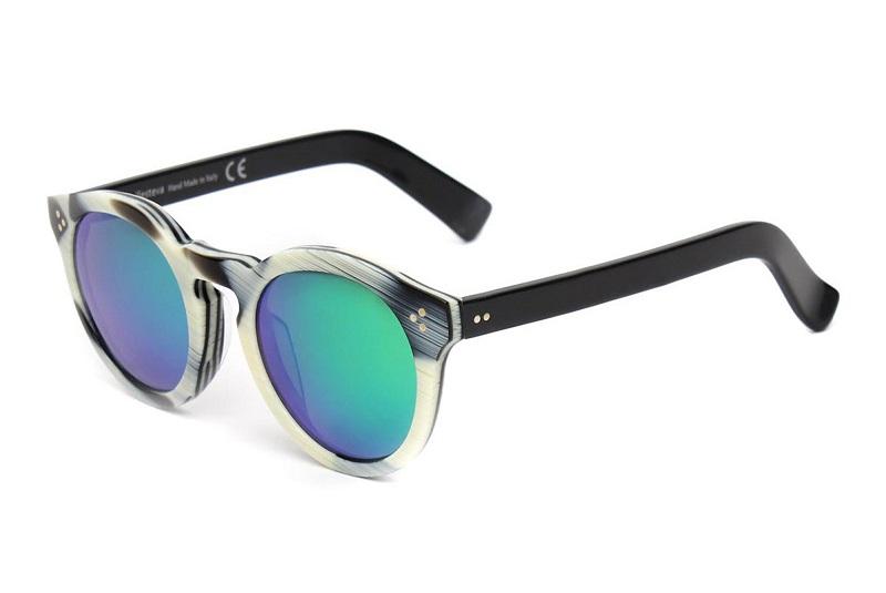 Illesteva Leonard II Round Sunglasses