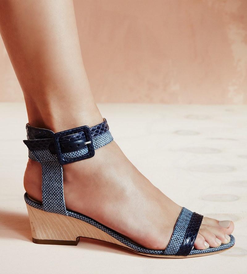 Jimmy Choo Mansy Ankle Strap Sandal