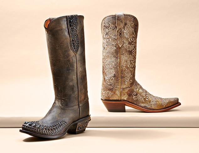 Lucchese, Nomad & Dan Post Western Boots at MYHABIT