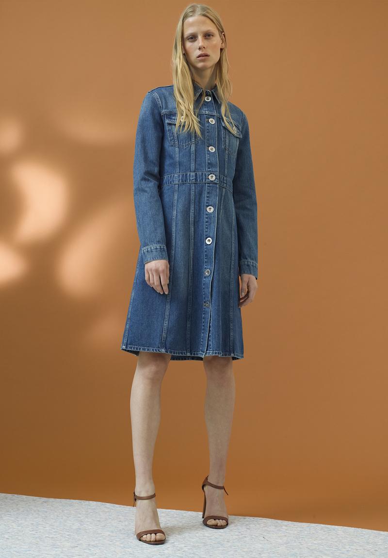 M.i.h Jeans DJ Long-sleeved Denim Dress