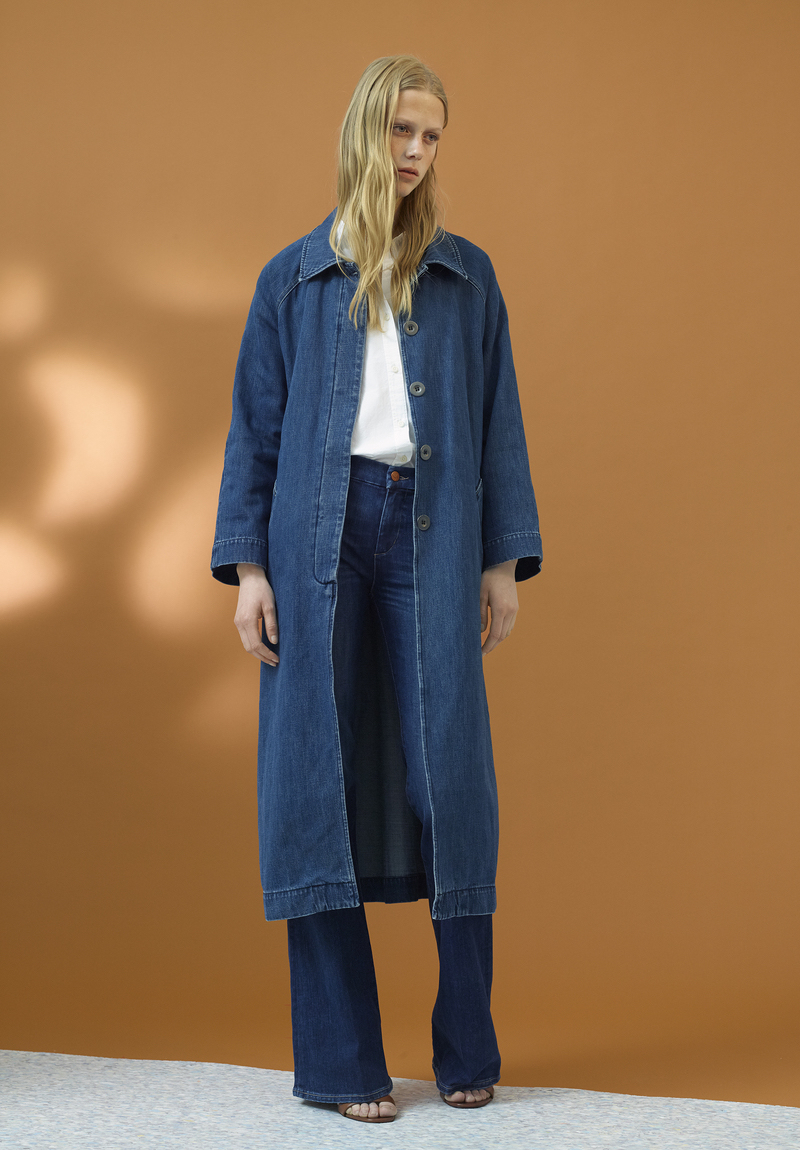 M.i.h Jeans Raglan-sleeves Denim Coat