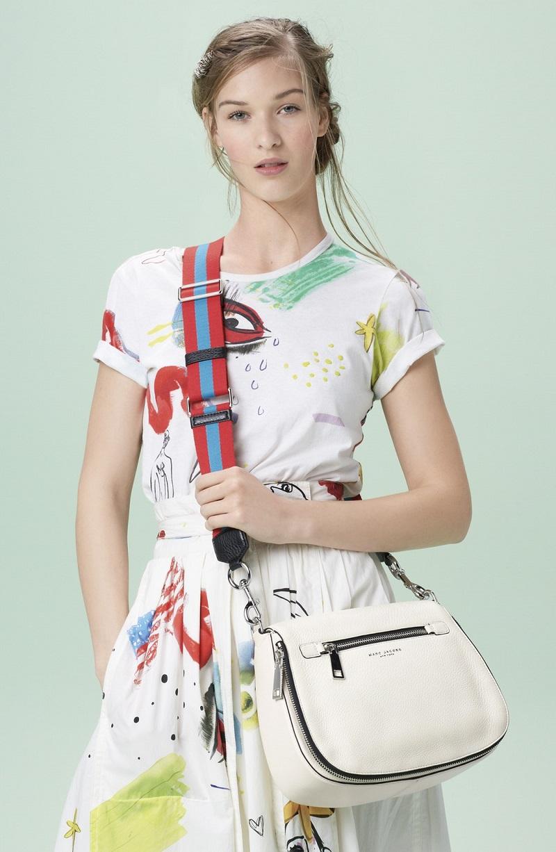 MARC JACOBS Wrap Cotton Midi Skirt