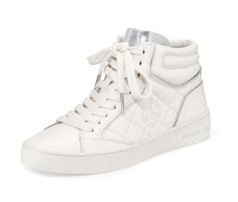 MICHAEL Michael Kors Paige Quilted High-Top Sneaker