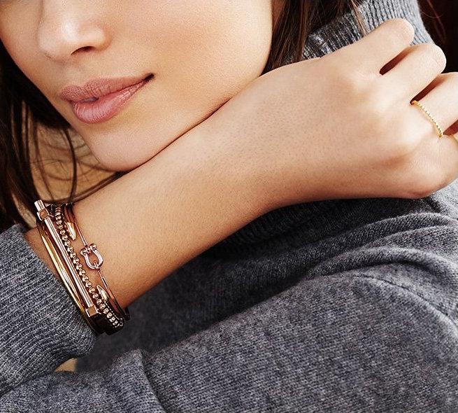 Miansai D Link Flip Cuff Bracelet