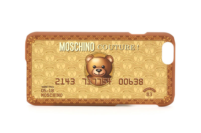 Moschino iPhone 6 Teddy Bear Credit Card Case