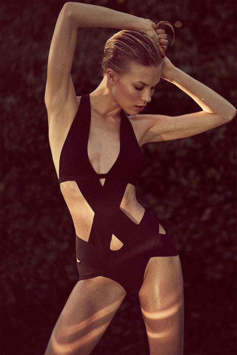 Nasty Gal On the Tight Side Bandage Swimsuit