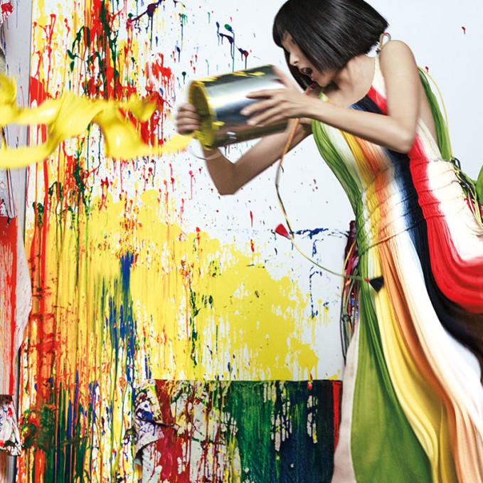 Neiman Marcus The Art of Fashion Spring 2016 Campaign feat. Xiao Wen Ju